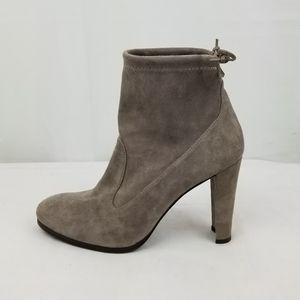 Stuart Weitzman Mitten Suede Ankle Boots size 7.5